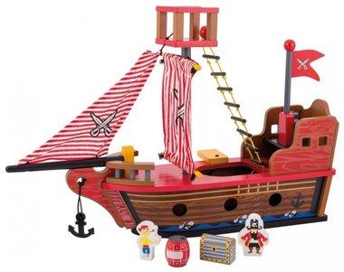 Houten piratenship / Jouéco