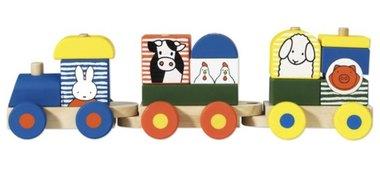 Nijntje houten trein / Bambolino Toys
