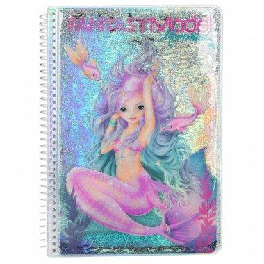 Fantasy Model kleurboek MERMAID / TOPModel