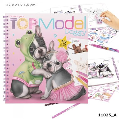 Create your Doggy kleurboek / TOPModel
