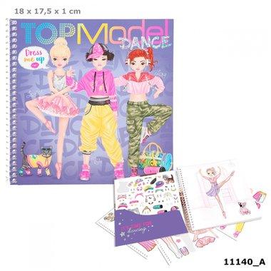 Dress Me Up stickerboek DANCE / TOPModel