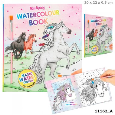 Water Colours boek / Miss Melody
