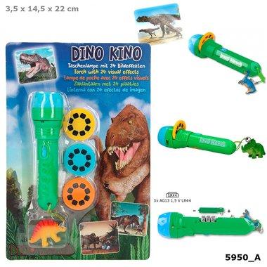 Zaklamp met plaatjes / Dino World