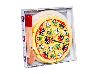 Houten snijpizza met snijder / Tanner