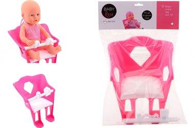 Fietsstoel voor de pop