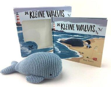 Cadeaudoos met boekje De kleine walvis en knuffel / Luitingh Sijthoff