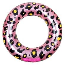 Opblaasbare Rosé Gouden Panter Zwemband - 90 cm / Swim Essentials