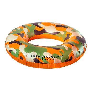 Opblaasbare Camouflage Zwemband Groot - 90 cm / Swim Essentials