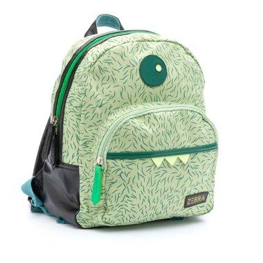 Rugzak Boys - Monster Hairy Green /ZEBRA