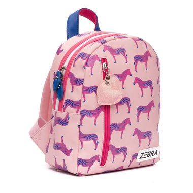 Rugzak (S) Zebra - pink / ZEBRA
