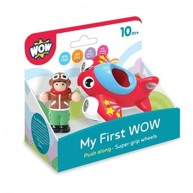 My first Wow Jet plane Piper / WOW Toys
