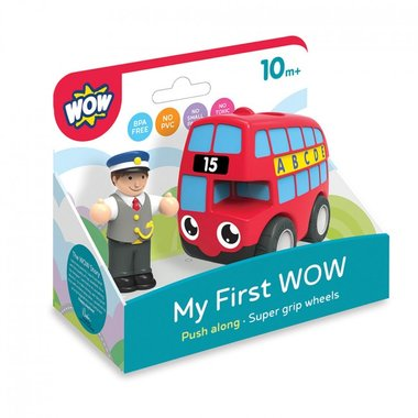 My first Wow London bus Basil / WOW Toys