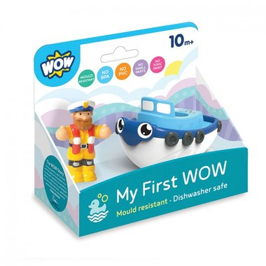 My first Wow Tug boat Tim / WOW Toys