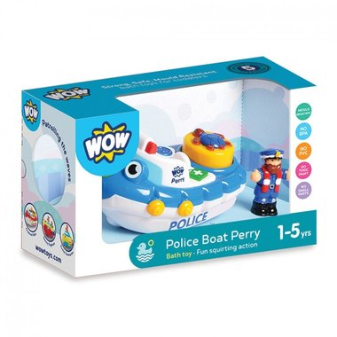 Police Boat Perry / WOW Toys