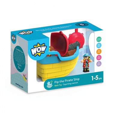 Pip the Pirate ship / WOW Toys