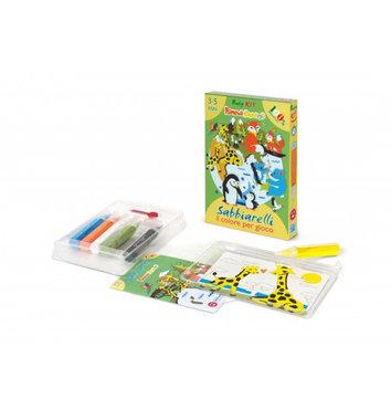 Zandkaarten Mini kit Babydieren / Sabbiarelli