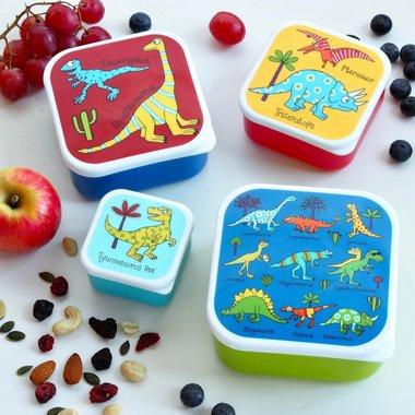 Dino's set van 4 snackboxen / Tyrrell Katz