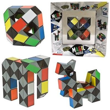Magic Puzzle 3D Multi Colour (48) / Clown Games
