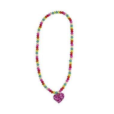Sparkle Spirited Heart ketting / Great Pretenders