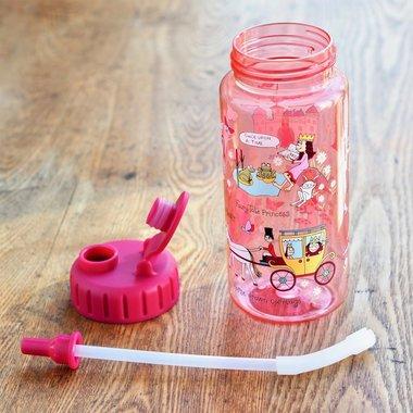 Prinses drinkfles (met rietje) nieuw design / Tyrrell Katz