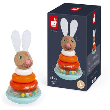 Lapin - Stapeltuimelaar konijn / Janod