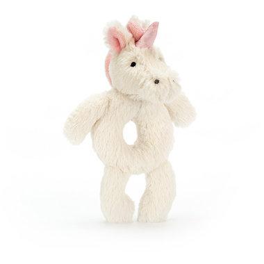 Rammelaar Eenhoorn Bashful Unicorn Grabber / JellyCat