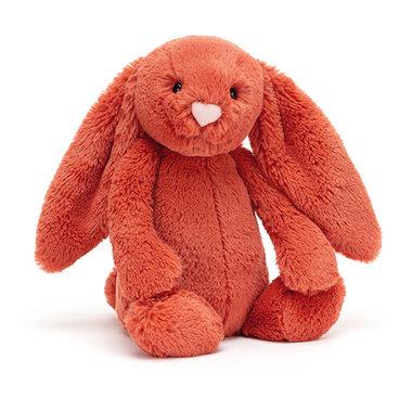 Konijn Bashful Cinnamon Bunny Medium / JellyCat