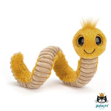 Wiggly Worm Yellow / JellyCat