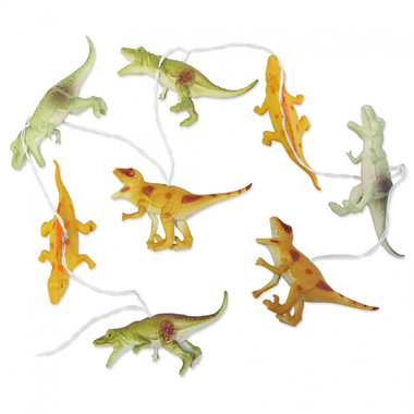 Lichtsnoer Dino's - String Lights With Natural Dinosaurs / The House of Disaster