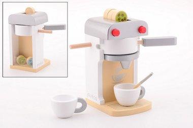 Houten koffieapparaat Deluxe (7-delig) / Jouéco