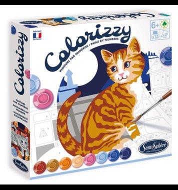 Schilderen op nummer Katten Colorizzy / SentoSphère