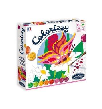 Schilderen op nummer Vlinders Colorizzy / SentoSphère