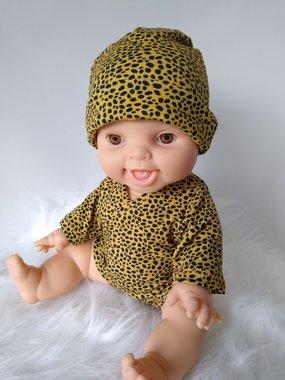 Romper cheetah yellow / KiaOra