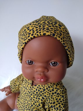 Beanie cheetah yellow / KiaOra