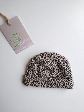 Beanie leopard sand / KiaOra