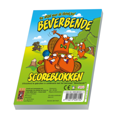 Beverbende scoreblokken / 999 Games