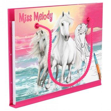Kleurboek met kleurpotlood / Miss Melody