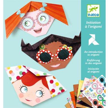 Origami Mooie gezichten / Djeco