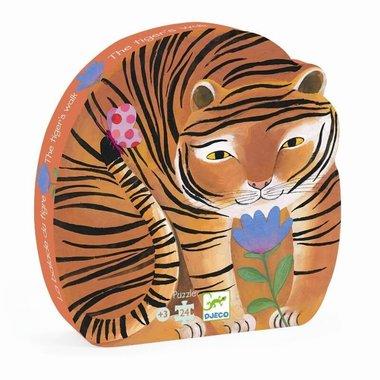 Puzzel De tocht van de tijger ( st 24.) / Djeco