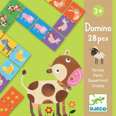 Domino puzzel boerderij / Djeco