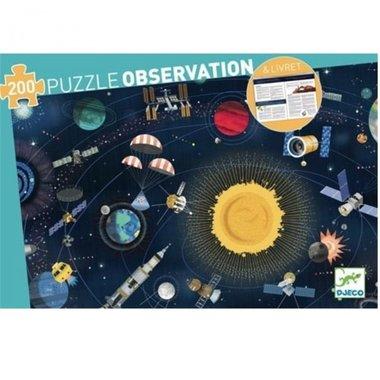 Observatie Puzzel Ruimtevaart (200 st.) / Djeco