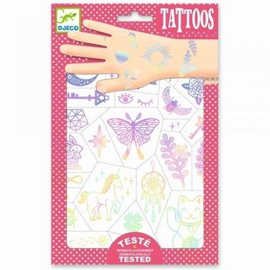 Tattoos Gelukssymbolen / Djeco