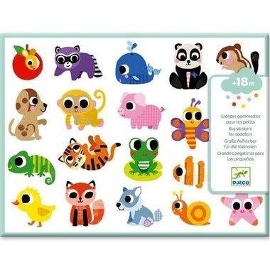 120 grote stickers voor kleine kinderen / Djeco
