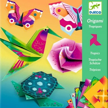 Origami Tropische dieren / Djeco