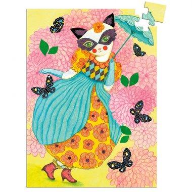 Mini puzzel Miss Tigri (60 st) / Djeco
