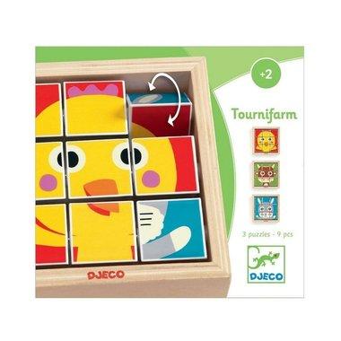 Blokpuzzel Tournifarm  / Djeco