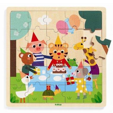 Houten puzzel Happy / Djeco
