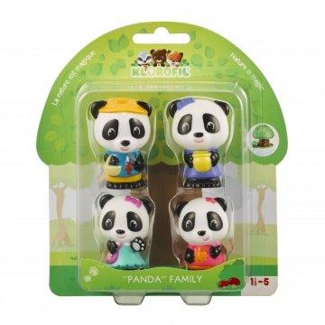 Set van 4 Klorofil characters de Panda's / Klorofil