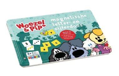 Woezel en Pip. Magnetische letter- en cijferdoos 3-6 jaar / Zwijsen