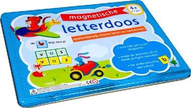 Magnetische Letterdoos/blik. 4-7 jaar / Rebo